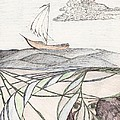 Where The Deep Currents Run... - Sketch by Robert Meszaros