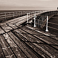 Whitby Pier  by Stephen  Wakefield