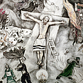 White Crucifixion by Granger