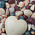 White Heart Stone by Garry Gay