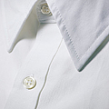 White Shirt Collar Detail. by Ballyscanlon