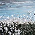 White Wildflower Breeze by Christine Krainock