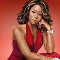 Whitney Houston by Reggie Duffie