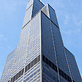 Willis-sears Tower In Chicago by Paul Velgos