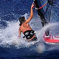 Wind Surfing by Manolis Tsantakis