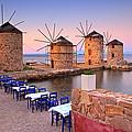 Windmills 2  by Emmanuel Panagiotakis
