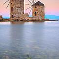 Windmills  by Emmanuel Panagiotakis