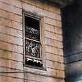 Window In Old House Stormy Sky by Jill Battaglia