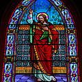 Window In Trinity Church Iv by Steven Ainsworth