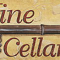 Wine Cellar Print by Debbie DeWitt
