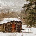 Winter Cabin 2 by Ernie Echols