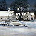 Winter Glow by Karol Wyckoff