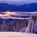 Winter Snow, Cascade Range, Oregon, Usa by Craig Tuttle