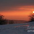 Winter Sunset by Michal Boubin