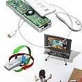 Wireless Home Video Game System Print by Jose Antonio PeÑas