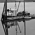 Wiscasset Reflection by Catherine Reusch  Daley