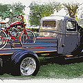Wizzer Cycle At The Hot Rod Show by Steve McKinzie