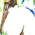 Wood Stork by Anthony Burks Sr