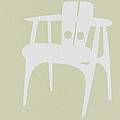 Wooden Chair Print by Naxart Studio