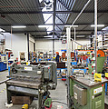 Workshop Full Of Machinery In A Factory by Corepics