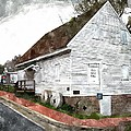 Wye Mill - Water Color Effect by Brian Wallace