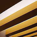 Yellow Ceiling Beams by Jeremy Woodhouse
