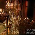 Yesturdays Glass Collection Print by Marsha Heiken