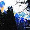 Yosemite Snow Top Mountains by Wingsdomain Art and Photography
