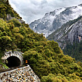 Yosemite Tunnel by Jill Buschlen