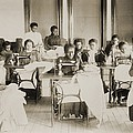 Young African American Women Sewing by Everett
