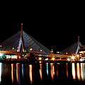 Zakim Over The Charles River by Richard Bramante