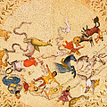 Zodiac Signs From Indian Manuscript by Science Source