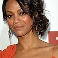 Zoe Saldana At Arrivals For Death At A by Everett