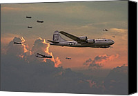 Usaf Canvas Prints -  B29 - Korea Canvas Print by Pat Speirs