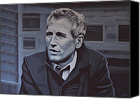 Paul Meijering Canvas Prints -  Paul Newman Canvas Print by Paul Meijering