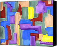Buy Painting Canvas Prints - Abstract 164 Canvas Print by Patrick J Murphy