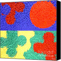 Ipad Design Canvas Prints - Abstract 175 Canvas Print by Patrick J Murphy