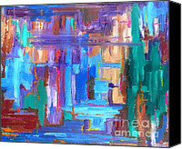 Buy Painting Canvas Prints - Abstract 20 Canvas Print by Patrick J Murphy