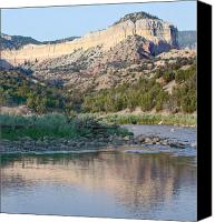 Chama River Canvas Prints - Beaver Pond Canvas Print by Look Visions