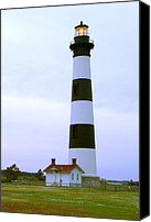 Outer Banks Canvas Prints - Bodie Light Canvas Print by Mike McGlothlen