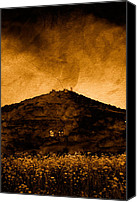 Storm Mixed Media Canvas Prints - From Dusk till Dawn Canvas Print by Roman Solar