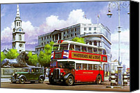 Streetscene Canvas Prints - London Transport STL Canvas Print by Mike  Jeffries