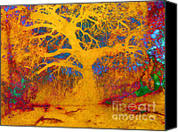Magic Forest Canvas Prints - Magic Tree Canvas Print by Robert Ball