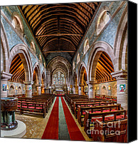 Hunt Canvas Prints - St Mary Canvas Print by Adrian Evans