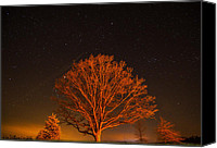 Ken Williams Canvas Prints - Starscape Canvas Print by Ken Williams