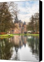 Joana Kruse Canvas Prints - Kasteel de Haar Canvas Print by Joana Kruse