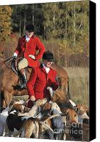 Huntsmen Photo Canvas Prints - 111025p103 Canvas Print by Arterra Picture Library
