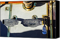 Pedals Canvas Prints - 1911 Pope Hartford Model W 4 Cylinder 50 HP 7 Passenger Brake-Clutch Pedals Canvas Print by Jill Reger