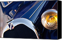 Lago Canvas Prints - 1939 Talbot-Lago T150 C Coupe Canvas Print by Jill Reger