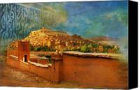 Formerly Canvas Prints - Ait Benhaddou  Canvas Print by Catf